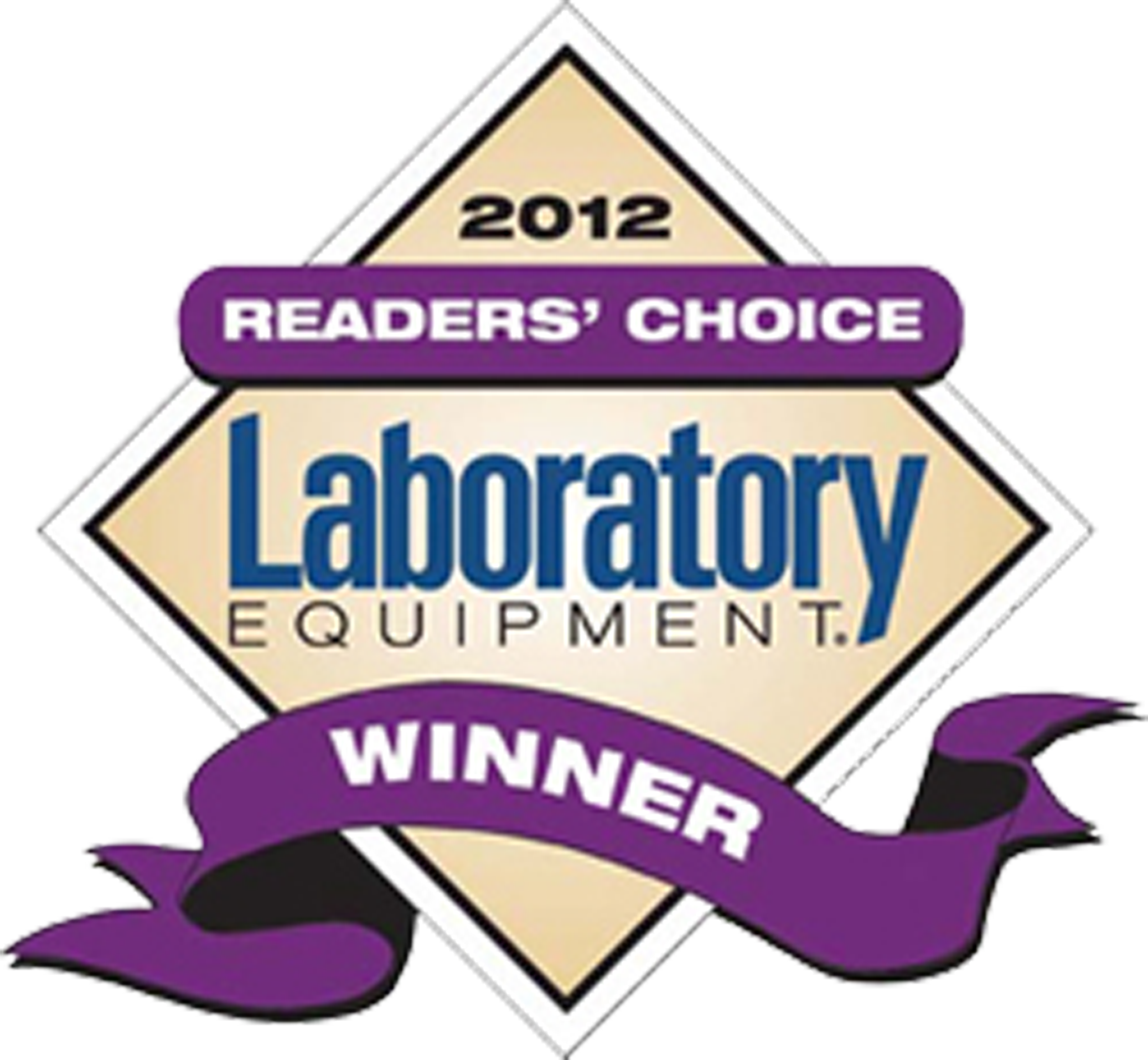 2012 Laboratory Equipment Readers' Choice Winner