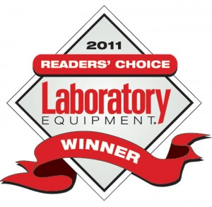 i-Raman wins 2011 Readers' Choice Award from Laboratory Equipment magazine