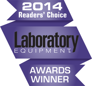 2014 Laboratory Equipment Readers' Choice Awards Winner